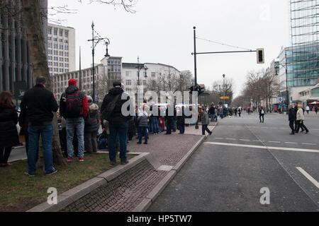 Berlin, Germany. 19th Feb, 2017. Carnival parade. Berlin, Germany. - Stock Photo
