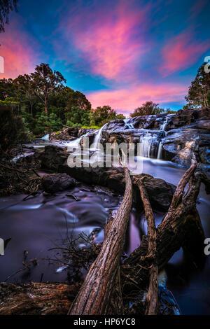 Kevill Rd Falls, Margaret River, Western Australia - Stock Photo