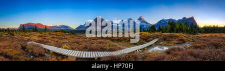 Mt Assinniboine Provincial Park, Canada - Stock Photo