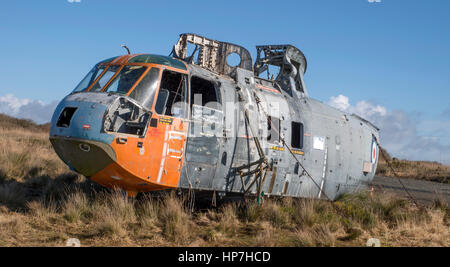 Westland Sea King HAS MK5 Royal Navy XZ570 (WA838) - Stock Photo