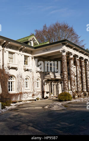 The Edwardian era Hycroft Manor that houses the University Women's Club of Vancouver, Shaughnessy Heights, Vancouver, - Stock Photo