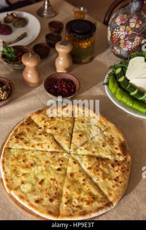 Ossetian baked pie - Stock Photo