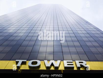 Wolkenkratzer, Trump Tower, New York, USA - Stock Photo