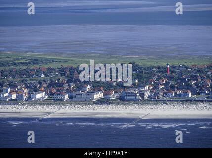 Wangerooge, Ostfriesland, Niedersachsen, Deutschland - Stock Photo