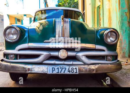 Car Havana Vieja - Stock Photo