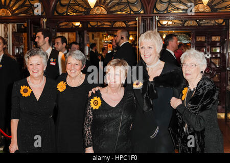 London, UK. 20th February, 2017. Stage production by Barlow and Tim Firth based on the hit film The Calendar Girls, - Stock Photo