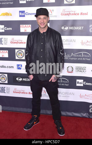 Hollywood, California. 19th Feb, 2017. Clementino attends the 12th Edition of The Los Angeles Italia Film, Fashion - Stock Photo