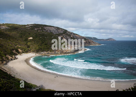 A view of Misery Beach in Torndirrup National Park, Albany, Western Australia - Stock Photo