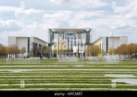 Germany,Berlin,Bundeskanzleramt - Stock Photo
