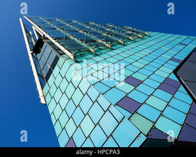Modern Architecture at The Deep Public Aquarium in Hull Yorkshire England - Stock Photo