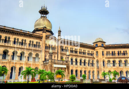 The Railway Administration Building in Kuala Lumpur - Malaysia. Built in 1917 - Stock Photo