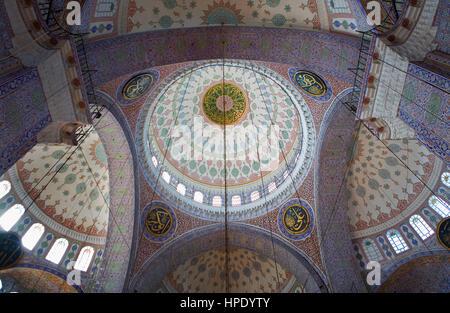 Yeni Mosque, Istanbul, Turkey - Stock Photo
