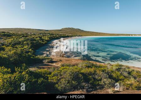 Views of Lucky bay in Cape Range National Park near Esperance, Western Australia - Stock Photo