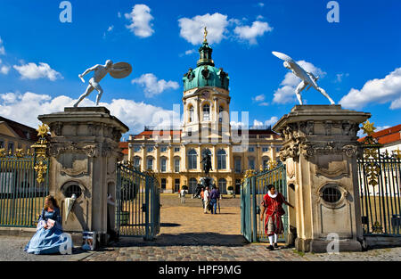 Charlottenburg palace.Berlin. Germany - Stock Photo