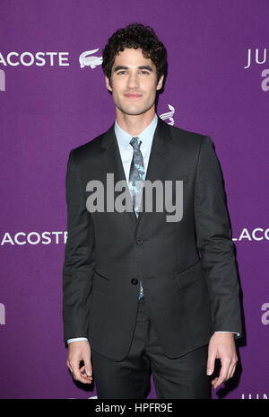 Beverly Hills, CA. 21st Feb, 2017. Darren Criss, At 19th CDGA (Costume Designers Guild Awards), At The Beverly Hilton - Stock Photo