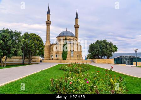 Mosque of the Martyrs. Baku, Azerbaijan - Stock Photo