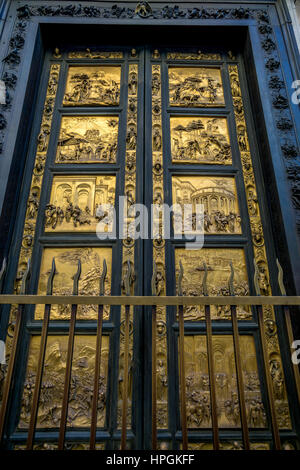 ... Gates of Paradise (East Doors) Baptistery of San Giovanni Florence - Stock & Florence Baptistery bronze East doors Gates of Paradise by ... Pezcame.Com