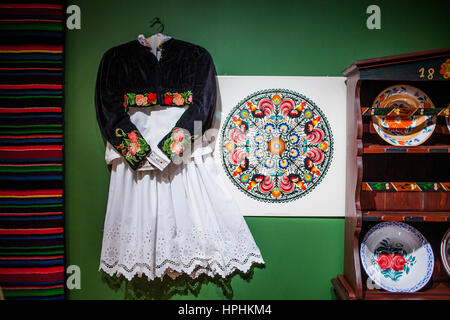 Traditional museum,in Granaries, Bydgoszcz, Poland. - Stock Photo