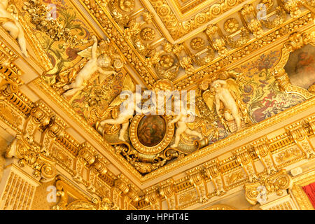 France, Paris, Ministry of Foreign Affairs during the European Heritage Days, 2014 edition, 37 quai d'Orsay, closeup - Stock Photo
