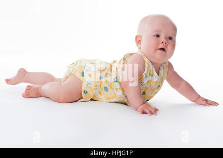 Model released , Baby, 10 Monate - baby