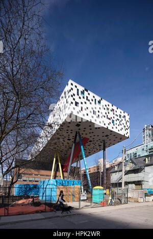 OCAD University, formerly the Ontario College of Art and Design, Toronto, Canada - Stock Photo