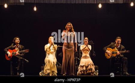 Flamenco Dancing, El Rocio Festival, El Rocio, Andalusia ...