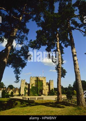 Springtime at Hever Castle. Kent. UK - Stock Photo