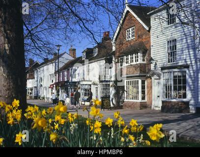 Tenterden in spring. Kent. England. UK - Stock Photo