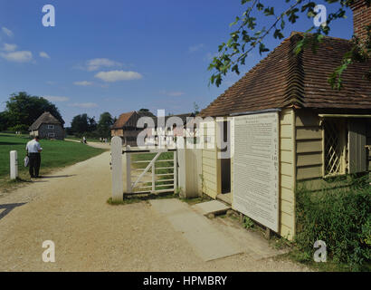 Weald and Downland Living Museum. Singleton. West Sussex. England. UK - Stock Photo