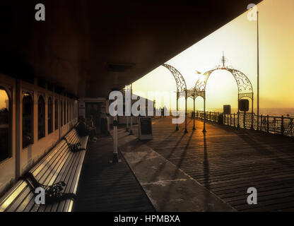Palace pier. Brighton. Sussex. England. UK - Stock Photo