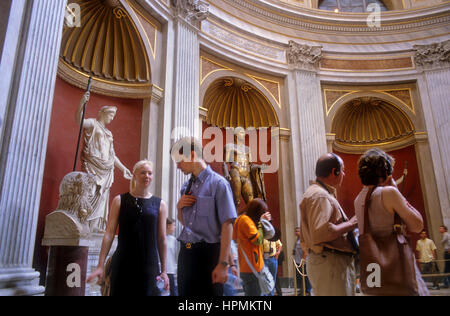 Vatican Museums, The Vatican,Rome, Italy - Stock Photo