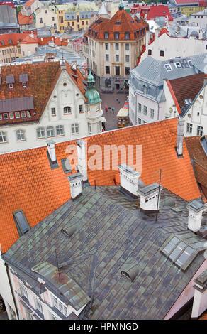 Old town,Tallinn, Estonia - Stock Photo