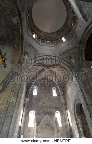 cathedral san michele arcangelo,casertavecchia,campania,italy - Stock Photo