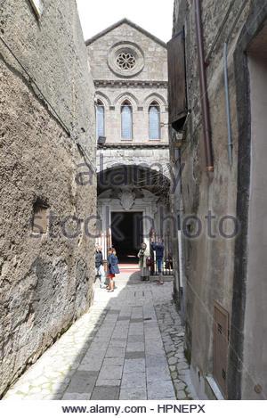 chiesa dell'annunziata,casertavecchia,campania,italy - Stock Photo