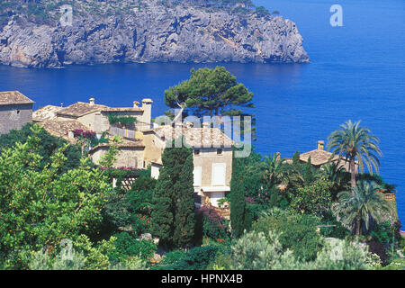 Mallorca Island coastline, Mallorca. Balearic Islands, Spain - Stock Photo