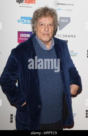 2017 Writer's Guild Awards at The Royal College of Physicians in London - Arrivals  Featuring: Sir Tom Stoppard - Stock Photo