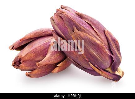 artichoke isolated - Stock Photo