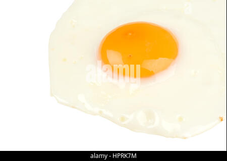 Omelette isolated on white background - Stock Photo