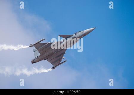 Saab JAS 39 Gripen - Stock Photo