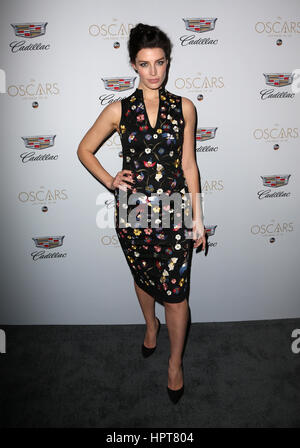 West Hollywood, California, USA. 23rd Feb, 2017. Jessica Pare, at Cadillac celebrates Oscar Week 2017, at Chateau - Stock Photo