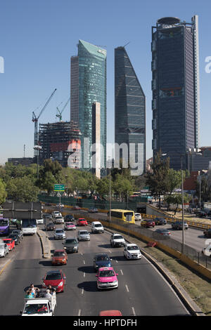 Mexico city, Mexico. Friday 24th February 2017. TomTom announced this week that Mexico City once again takes the - Stock Photo