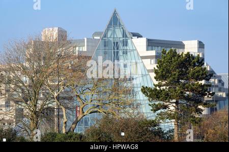 Architecture in Southampton - Stock Photo