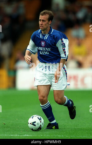 JAMIE CLAPHAM IPSWICH TOWN FC 02 September 1998 - Stock Photo