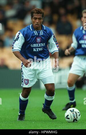 MATTHEW HOLLAND IPSWICH TOWN FC 02 September 1998 - Stock Photo