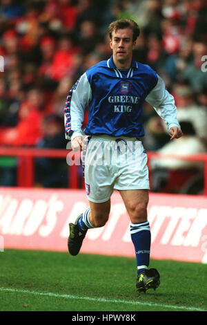 JAMIE CLAPHAM IPSWICH TOWN FC 20 December 1998 - Stock Photo