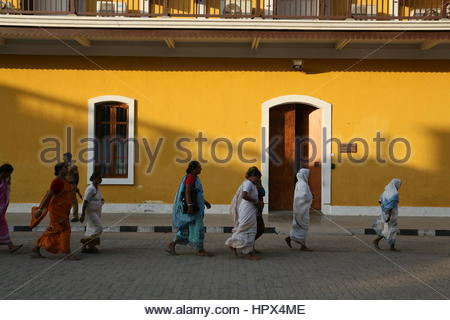French Consulate, Pondicherry - Stock Photo