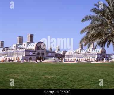 The Souq Al Markazi, Al Rolla Square, Sharjah, United Arab Emirates - Stock Photo