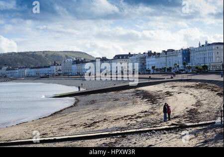 South Parade,Llandudno,Conwy County,North Wales - Stock Photo