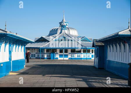 The Pier,Llandudno,Conwy County,North Wales - Stock Photo