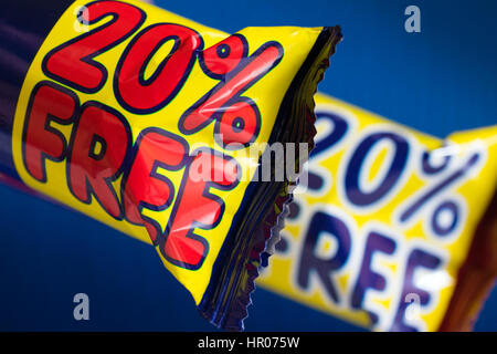 desert wrapped in a package discount - Stock Photo